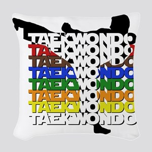 ColorsOfTKD Woven Throw Pillow
