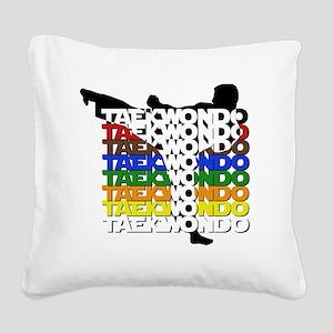 ColorsOfTKD Square Canvas Pillow