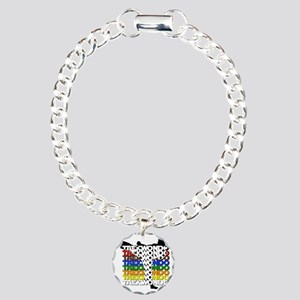 ColorsOfTKD Charm Bracelet, One Charm