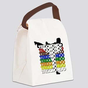 ColorsOfTKD Canvas Lunch Bag