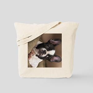 frenchie ipad Tote Bag
