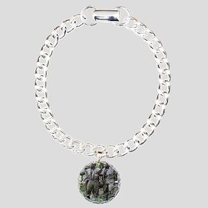 v15 Charm Bracelet, One Charm