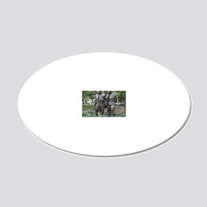 v15 20x12 Oval Wall Decal