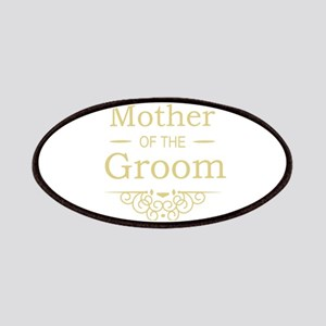 Mother of the Groom gold Patches