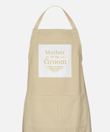 Mother of the Groom gold Apron