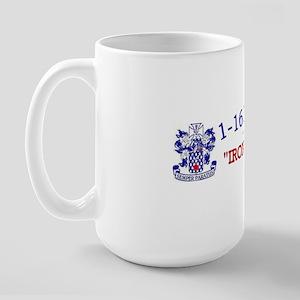 1st Bn 16th Inf cap1 Large Mug