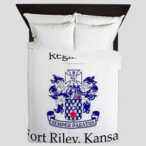 1st Bn 16th Inf Queen Duvet