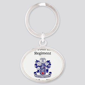1st Bn 16th Inf Oval Keychain