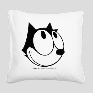 face3 Square Canvas Pillow