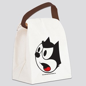 face2 Canvas Lunch Bag