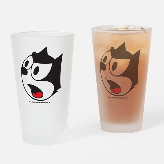 face2 Drinking Glass