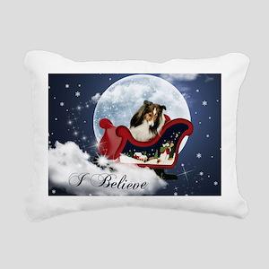 I Believe Mousepad Rectangular Canvas Pillow