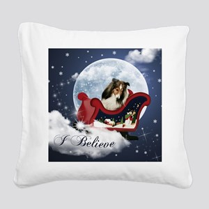 I Believe Mousepad Square Canvas Pillow