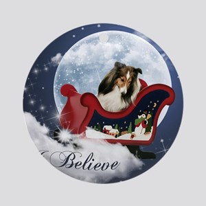 I Believe Mousepad Round Ornament