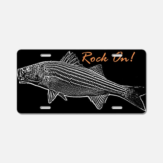 RockOn Aluminum License Plate