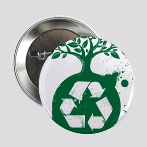 "green recycle 2.25"" Button"