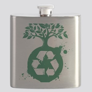 green recycle Flask