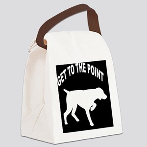 GET TO THE POINT BLANKET Canvas Lunch Bag