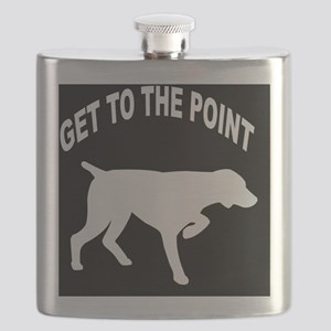 GET TO THE POINT BLANKET Flask