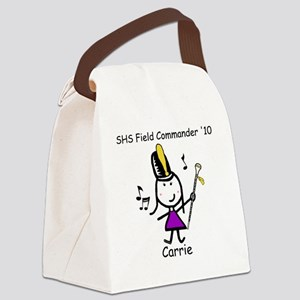 drummajor_carrie Canvas Lunch Bag