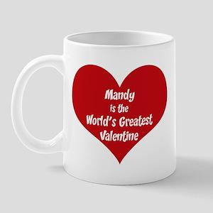 Greatest Valentine: Mandy Mug