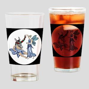 Titania  Bottom round Drinking Glass