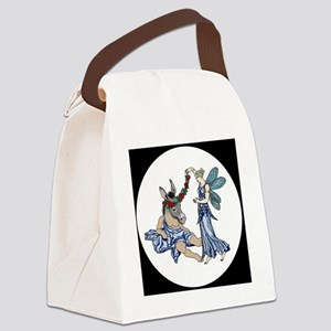 Titania  Bottom round Canvas Lunch Bag