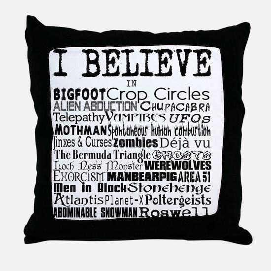 I believe Throw Pillow