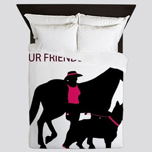 AwalkWithFriends Queen Duvet