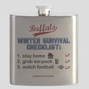 Buffalo Winter Flask