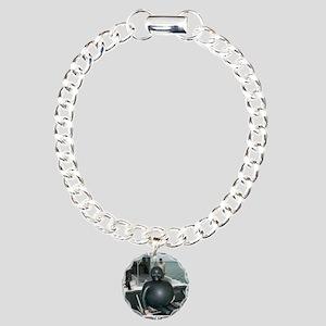 FARTING1 Charm Bracelet, One Charm