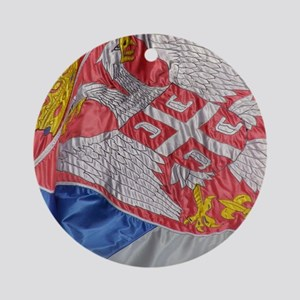 iPad_Flag Round Ornament