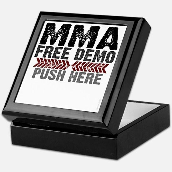 MMA shirts - free demo, push here Keepsake Box