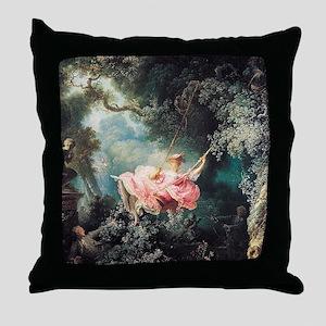 fragonard-swing_sb Throw Pillow