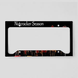 NutcrackerSeason License Plate Holder
