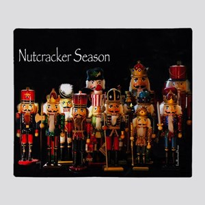 NutcrackerSeason2 Throw Blanket