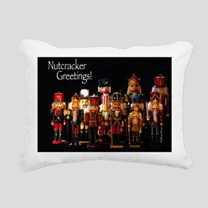 NutcrackerGreetings1 Rectangular Canvas Pillow