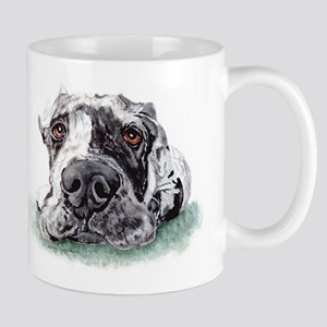 Great Dane Taped Merle Mug