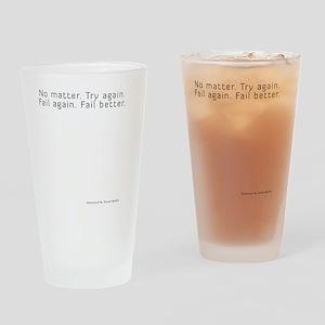 worstward book Drinking Glass