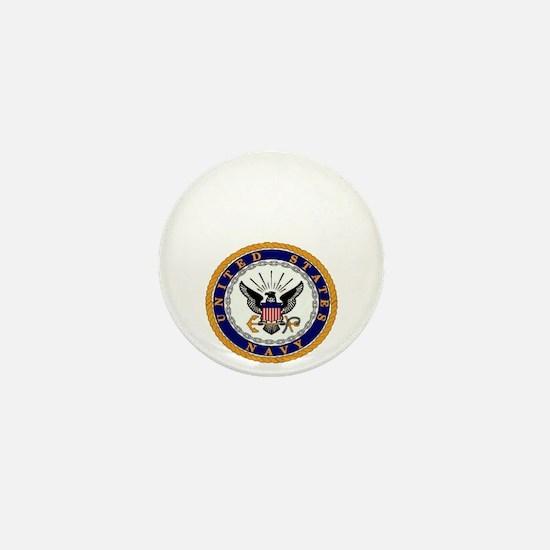 bennett seal white letters Mini Button