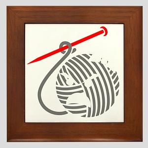 liv-blk-10in-nobg Framed Tile