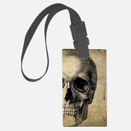 OldSkull_ipad Luggage Tag