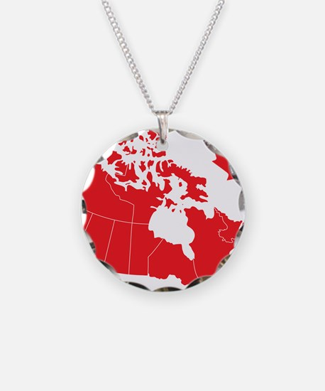 canadamap1 Necklace