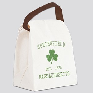springfield-ma Canvas Lunch Bag