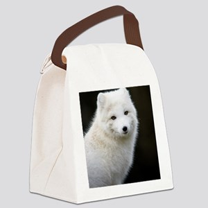 Artic Fox Canvas Lunch Bag