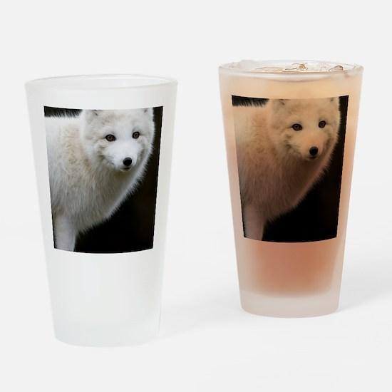 Artic Fox Drinking Glass