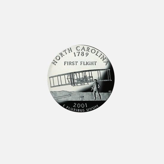 quarter_north_carolina_600 Mini Button