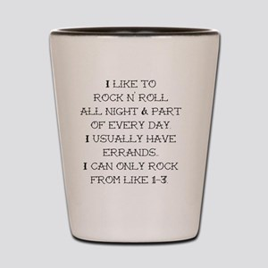 rocknroll Shot Glass