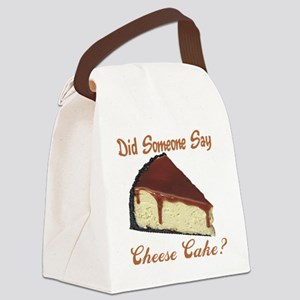 cheese cake Canvas Lunch Bag