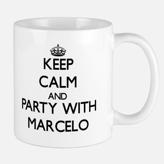 Keep Calm and Party with Marcelo Mugs